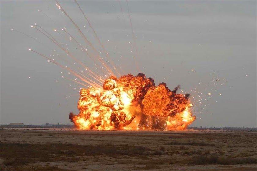 قدرت نظامی روسیه قدرت نظامی آمریکا جنایات آمریکا بمب جی بی یو بزرگترین بمب جهان GBU 43 bomb