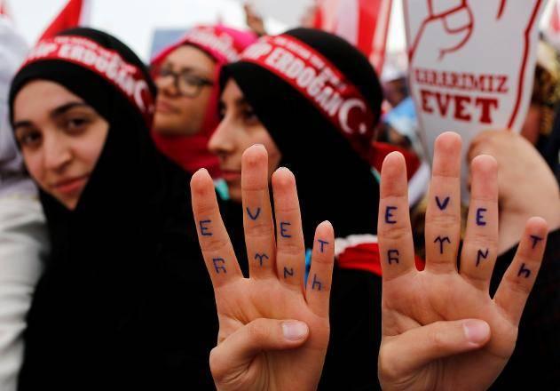 موافقان و مخالفان اردوغان برای اصلاح قانون اساسی چه کسانی هستند؟ +تصاویر