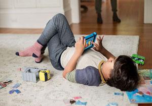این تبلت جدید خیال پدر و مادرها را راحت می کند!