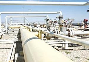 تعویض بخشی از خط لوله نفت کوره در منطقه اصفهان