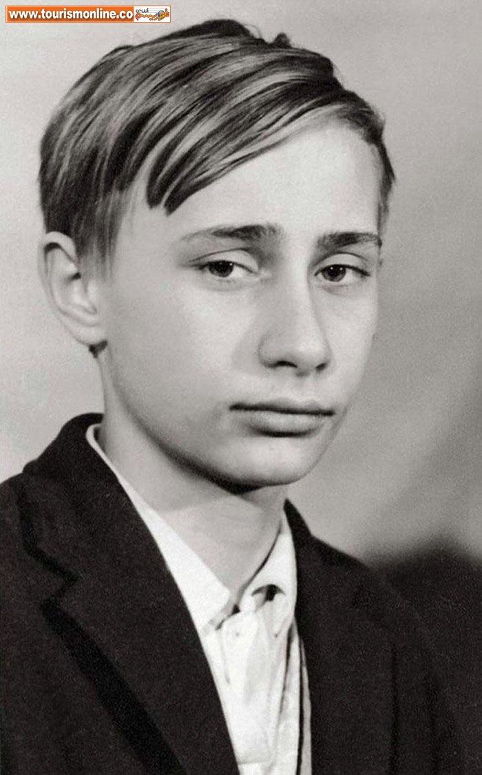 چهره های جالب سیاستمداران مشهور در ایام جوانی +تصاویر