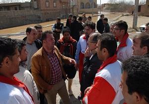 مديريت بحران آذربايجان غربي سربلند از آزمون سيل + عكس