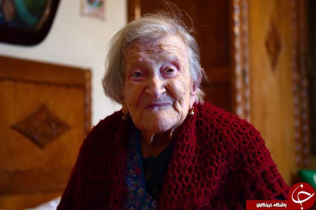 راز طول عمر مسن ترین زن جهان + تصاویر