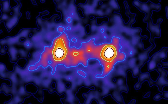 باشگاه خبرنگاران -ثبت تصویری از ماده تاریک بین کهکشان ها برای اولین بار