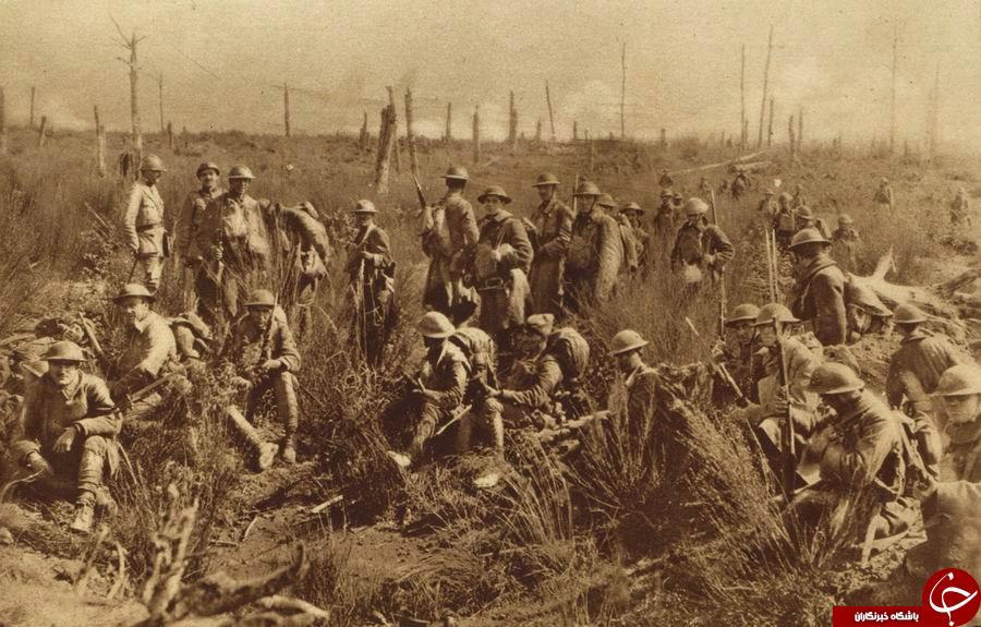 تصاویر دیده نشده از حضور سربازان آمریکایی در جنگ جهانی اول