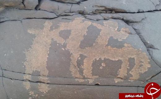سنگ نگاره هایی با قدمتی 11هزار ساله در دل صخره های سرباز