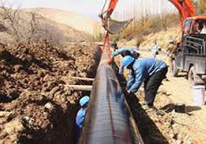 توسعه شبکه توزیع آب استان