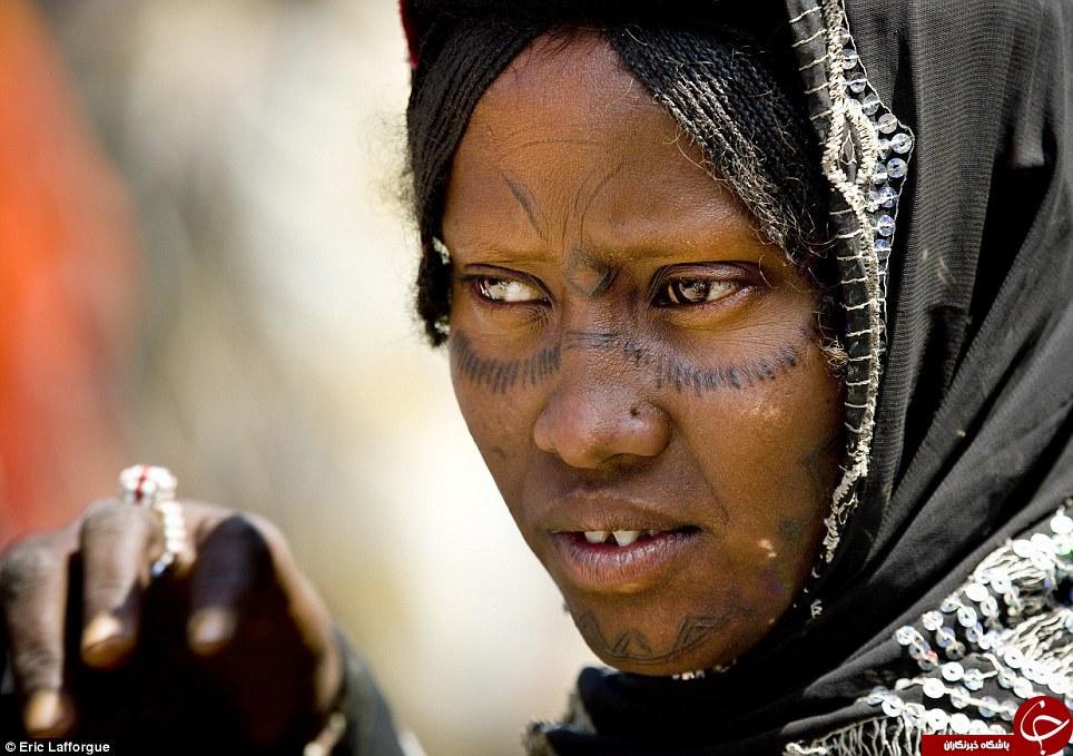 رسم ورسوم دردناک قبایل آفریقایی+ تصاویر