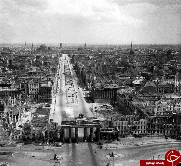 گرد مرگ در برلین +تصاویر