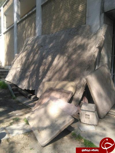 ماجرای باغ رها شده ای کتیبه ها در مجموعه تاریخی فرهنگی نیاوران
