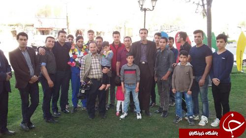 استقبال گرم از قهرمان مسابقات بین المللی ووشو جام پارس+عکس