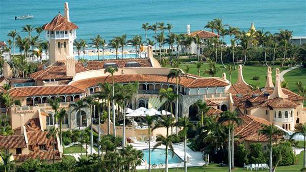 ترامپ یک پنجم از وقت خود را در اقامتگاه تفریحیاش در فلوریدا سپری کرده است