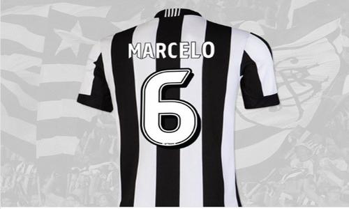 پیراهن شماره 6 بوتافوگو به نام مارسلو شد