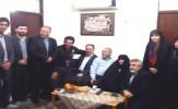باشگاه خبرنگاران -دیدار نوروزی فرماندار رشت با خانواده شهیدان یوسفی