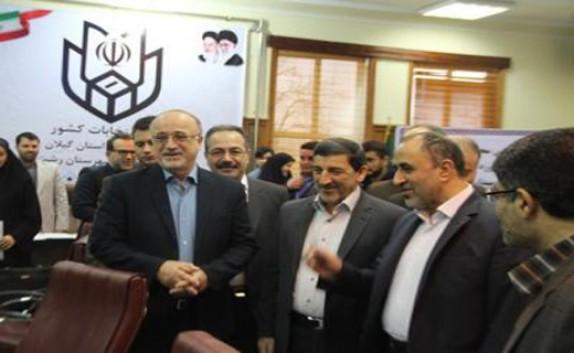 باشگاه خبرنگاران -بازدید استاندار گیلان از حوزه انتخابیه شهرستان رشت