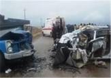 باشگاه خبرنگاران - سومین حادثه جاده ای امروز در ساوه رقم خورد/ برجای ماندن ۵ مصدوم
