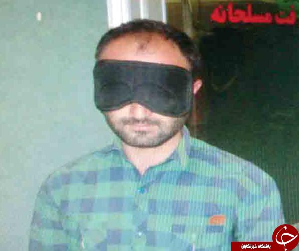 اعترافات سیاه پوش مسلحی که به قرض الحسنه ثامن دستبرد زد +عکس