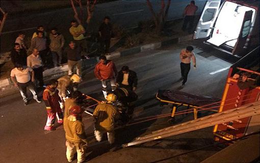 سقوط خانم 35 ساله از طبقه دوم ساختمان مسکونی/ علت حادثه در دست بررسی