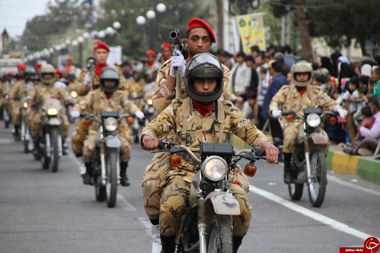 نمایش اقتدار، عزت و صلابت نیروهای مسلح در تربت جام +تصاویر