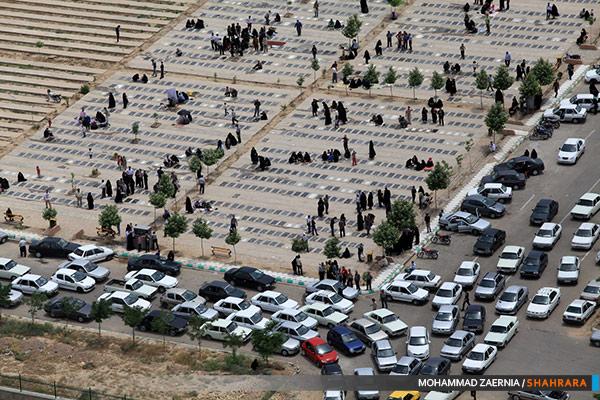 افزایش فضای پارکینگ در آرامستان بهشت رضا (ع)