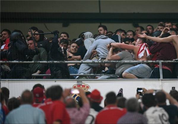 بازداشت هواداران بایرن در مادرید