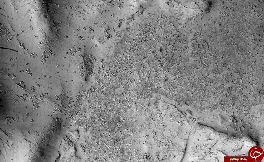 انتشار تصاویری خارق العاده از سطح مریخ
