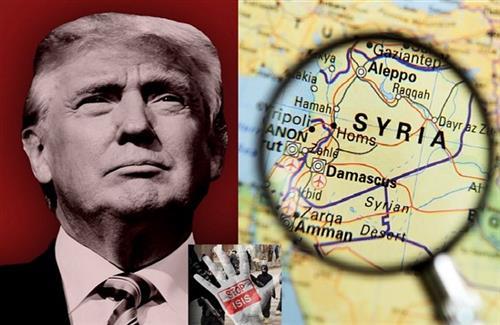 نقشههایی که ترامپ برای سوریه کشیده است!