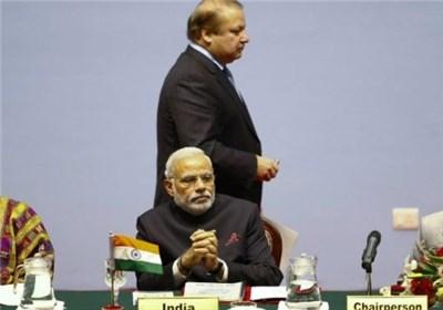 دیدار سران هند و پاکستان در حاشیه اجلاس شانگهای