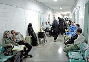 ماجرای بستری بیماران در راهروی بیمارستانی در مشهد