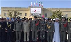 جمعی از وابستگان نظامی خارجی با امیر حیدری دیدار و گفتوگو کردند