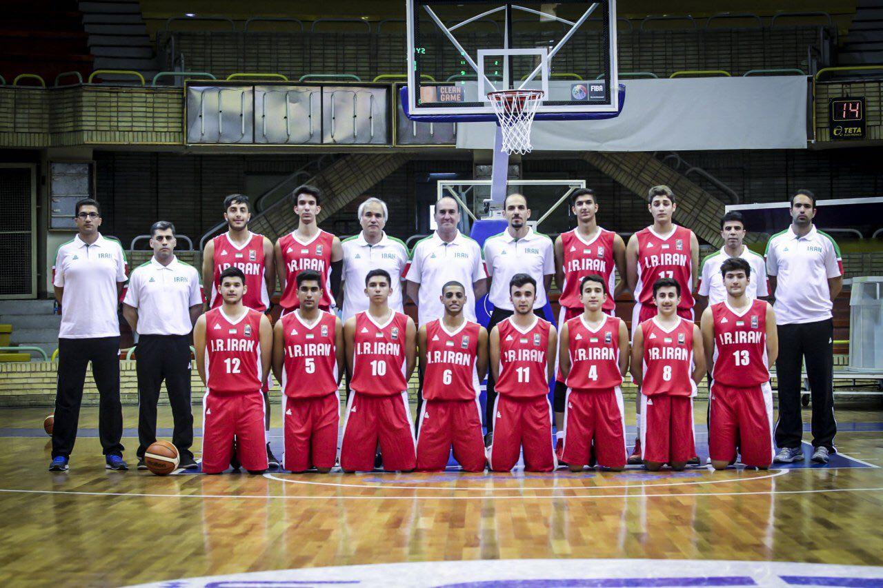 ویرایش///برتری تیم ملی بسکتبال نوجوانان ایران برابر سوریه
