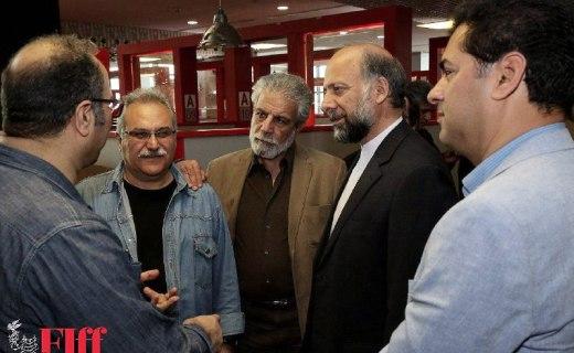 رئيس سازمان سينمای در کاخ جشنواره جهانی فیلم فجر حضور يافت