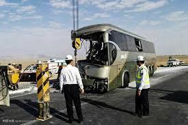 تصادف اتوبوس اسکانیا با کامیون با 28 کشته و مجروح