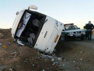 واژگونی اتوبوس با 7کشته و 22 مصدوم در سبزوار/ حال 4 نفر وخیم است