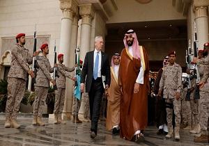 خوش رقصی وزیر دفاع آمریکا برای آلسعود: هرجای منطقه مشکلی به چشم میخورد، ایران آنجاست!,