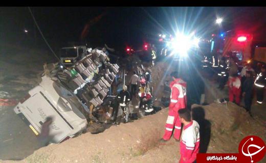 جزییات جدید از تصادف خونین حوالی شهرستان داورزن/ فوتی ها به 12 نفر رسید