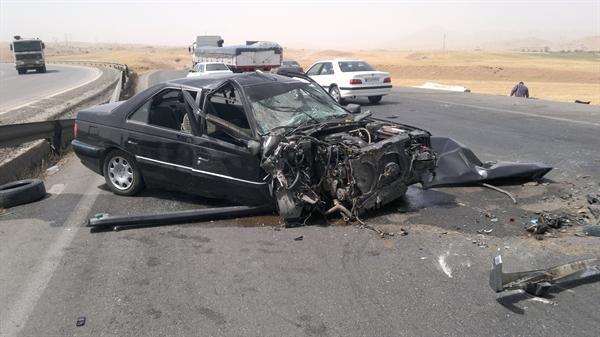 حادثه آفرینی ماشین حمل اتباع بیگانه در بردسیر