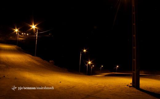 بام سمنان در شب _ گزارش تصویری