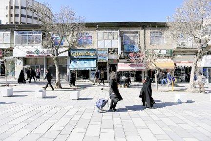 ۶ خیابان اصلی همدان پیادهراه میشود