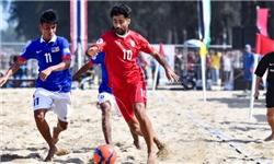 پیروزی تیم ملی فوتبال ساحلی ایران مقابل پاناما