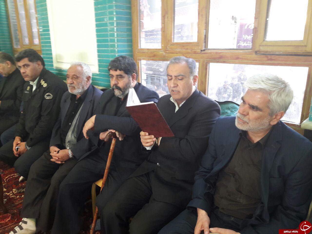 برگزاری مراسم گرامی داشت جان باختگان سیل آذرشهر