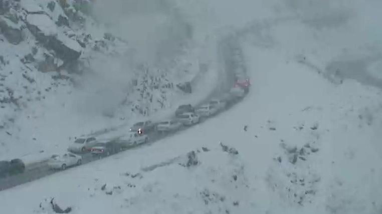 گزارش لحظهبهلحظه از وضعیت ترافیکی و جوّی راههای کشور+تصاویر