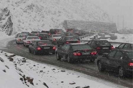 ادامه بارش باران و برف در برخی استان ها