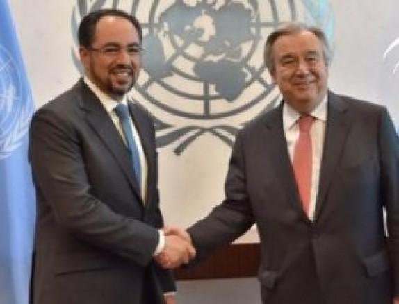 باشگاه خبرنگاران - گفتگوی صلاح الدین ربانی با دبیر کل سازمان ملل متحد در مورد افغانستان