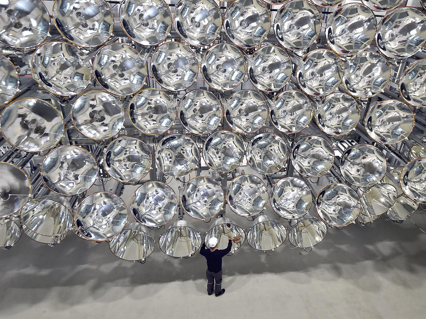 ساخت بزرگترین خورشید مصنوعی جهان در آلمان