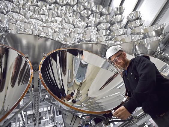 ساخت بزرگترین خورشید جهان در آلمان