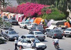 افزایش ۲۰ درصدی تردد وسایل نقلیه از محورهای مواصلاتی استان اردبیل