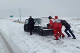 باشگاه خبرنگاران -امداد رسانی به دو هزار و ۳۱۸ نفر گرفتار در برف