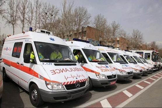 انجام بیش 85645 ماموریت توسط امدادگران اورژانس