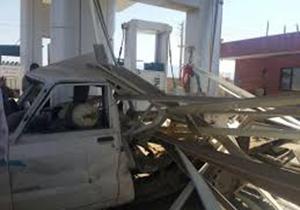 5مصدوم در انفجار جایگاه سی ان جی مسجدسلیمان